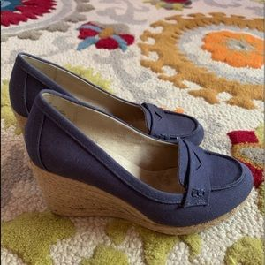 GH BASS wedge sandals 7 NEW